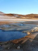 Hverir, volcanic area, Iceland. — Stock Photo