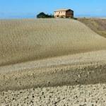 Tuscan style farm villa — Stock Photo