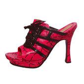 粉色凉鞋 — 图库照片