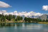 Arpy lake, Aosta Valley, Italy — Stock Photo
