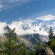 Les Grandes Jorasses — Stock Photo