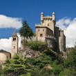 Saint Pierre castle, Aosta, Italy - Stock Photo
