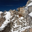 Building in Aiguille du Midi - Mont Blanc — Stock Photo #5588880