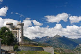 Aymavilles, Aosta valley, Italy — Stock Photo