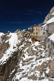 Building in Aiguille du Midi - Mont Blanc — Stock Photo