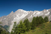 Mont Blanc. Italy — Stock Photo