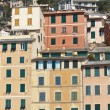Colored italian facades - Stock Photo