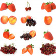 Fruits collection 1 — Stock Photo