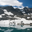 Pietra Rossa Alpine lake — Stock Photo