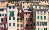 Casas em camogli — Fotografia Stock