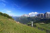 Dolomites peyzaj - fassa vadisi — Stok fotoğraf