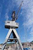 Dock crane — Stockfoto