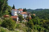 Fontanasse, small Italian village — Stock Photo