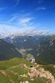 Fassa 谷,意大利多洛米蒂山 — 图库照片