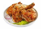 Cosce di pollo alla griglia — Foto Stock