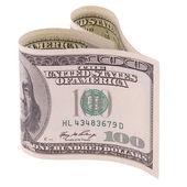 Heart shaped money — Stock Photo