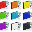 Stock Photo: CD and Case