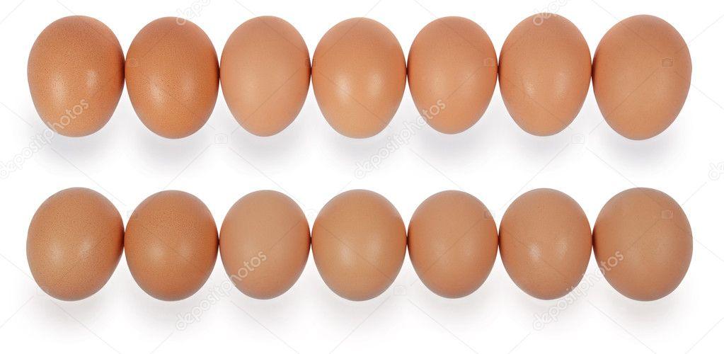 sEvent huevos en fila � Foto stock � akova777 #6057253