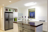 New kitchen in a modern home — Stock Photo
