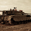 Merkava Mk 4 Baz Main Battle Tank — Stock Photo
