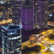 Tel Aviv Night View - Foto de Stock
