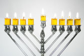 Hanukkah Menorah / Hanukkah Candles — Stock Photo