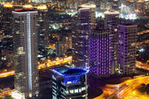 Tel Aviv Night View — Stock Photo