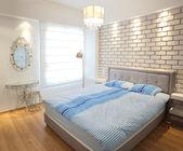 Luxury Bright Bedroom — Stock Photo