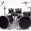 Drums kit - Stock Photo