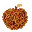 Organic dried apples — Stock Photo