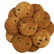 Cookie top view — Stock Photo