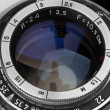 Wintage photo objective — Stockfoto #5533177