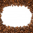 Frame coffee beans - Stock Photo