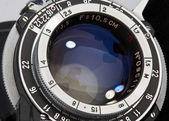 Wintage photo objective — Stock Photo