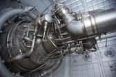 Rocket engine exposed — Stock Photo