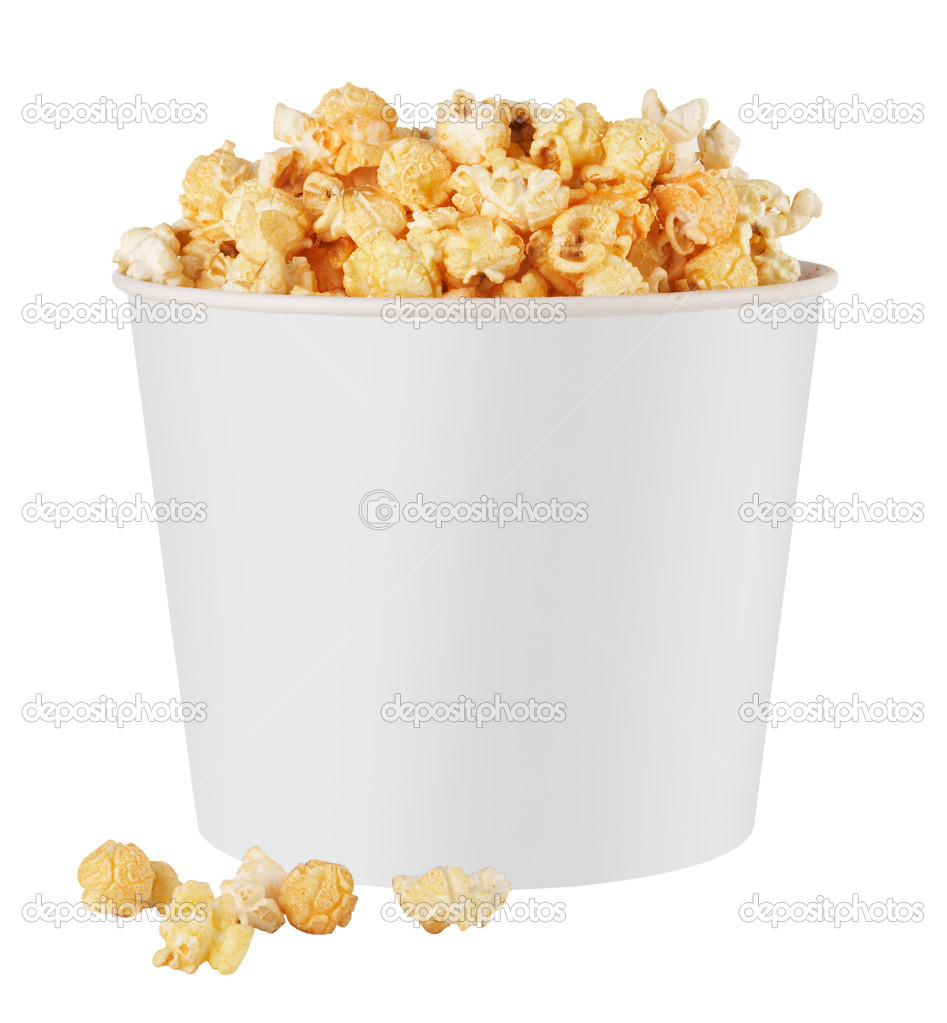 White popcorn box — Stock Photo © krasyuk #5533708