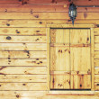 Wood texture with window — Stock Photo