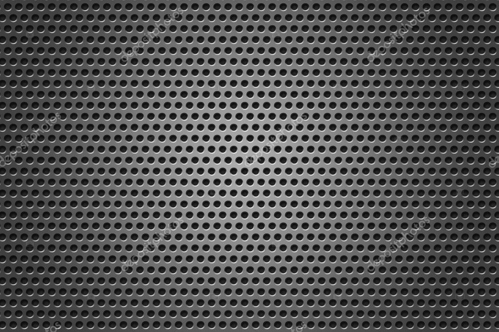Metal Grid circles gray texture — Stock Photo #5815313