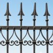 metal fence — Stock Photo