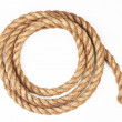 Rope on a white — Stock Photo #6073235