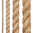 Royalty-Free Stock Photo: Set of various ropes