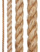 Set of various ropes — Stock Photo