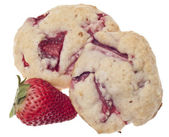 Strawberry Shortcake Cookies — Stock Photo