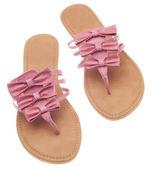 粉红色的鞋子 — 图库照片