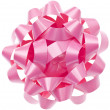 Vibrant Pink Gift Bow — Stock Photo