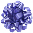 Vibrant Purple Gift Bow — Stock Photo