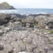 Scene from Giants Causeway in Northern Ireland — Foto Stock