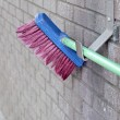 Close Up Car Wash Scrubbing Brush — Stock Photo