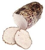 Taro korzeń yam warzywo — Zdjęcie stockowe