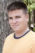 Portrait of Handsome Twentysomething Caucasian Man — Stock Photo